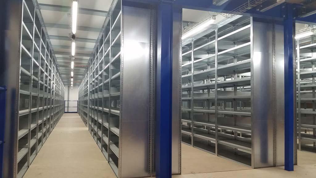 multi tier shelving sydney